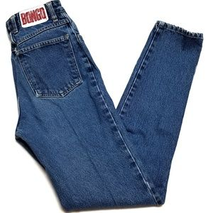 Bongo Vintage Ultra High Rise Dark Wash Jean's 5XL